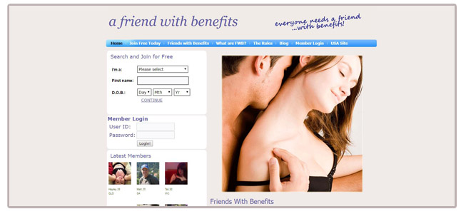 Friends With Benefits The ultimate dating website